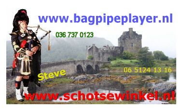 Steve the Bagpipe Player